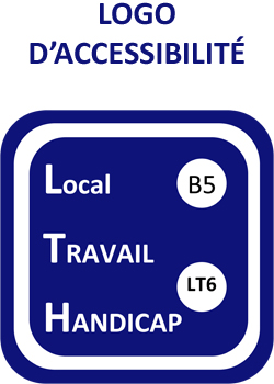 Logo Accessibilité Local de Travail